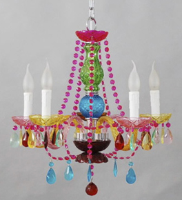 Small murano glass chandelier with bead and crystal murano style small murano glass chandelier with bead and crystal mozeypictures Gallery
