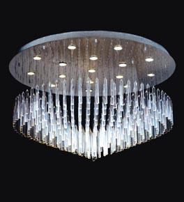 16 light floating icicle chandelier ceiling lighting japan 16 light floating icicle chandelier aloadofball Gallery