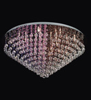 30 Light Crystal Cluster Chandelier