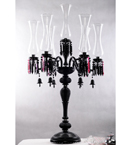 7 Light Fluted Vase Lamp