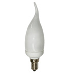Low Energy Candle Bulbs with Flame Tip
