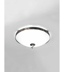 Pavone Design Glass with Metal Frame Flush Fitting Light