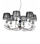 Pavone Design Metal Framed Chandelier